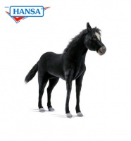 Life Size Black Pony (4059) - FREE SHIPPING!