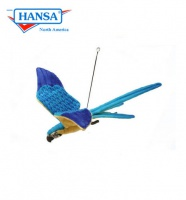 Flying Blue and Yellow Macaw   (3459)