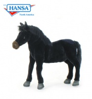 Wildfire Horse Black 18'' (5126) - FREE SHIPPING!