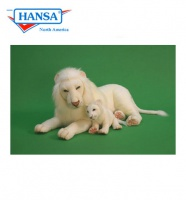 "White Lion, 40"" Long (5243) - FREE SHIPPING!"
