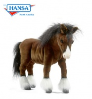 Clydesdale Horse 19.5''L (5443) - FREE SHIPPING!