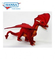 "Great Dragon Red 18"" LONG (5936) - FREE SHIPPING!"