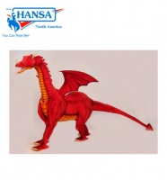 "Red Dragon Ride-on 46"" H (5964) - FREE SHIPPING!"
