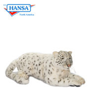 Hansatronics Mechanical Snow Leopard Mama Laying (0240) - FREE SHIPPING!