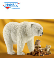 Hansatronics Mechanical Polar Bear Lifesize Walking (0192)