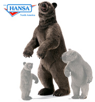 Hansatronics Mechanical Grizzly Bear, Lifesize (0167) - FREE SHIPPING!
