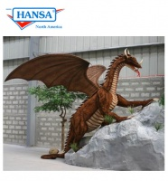 Hansatronics Mechanical Grand Dragon Life Size (0002) - FREE SHIPPING!