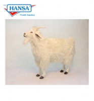Hansatronics Mechanical White Goat (Cashmere) 42'' (0402) - FREE SHIPPING!