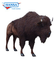 Hansatronics Mechanical Buffalo Bison, Life Size (0007) - FREE SHIPPING!