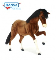 Hansatronics Mechanical Clydesdale Prancing 55'' (0153) - FREE SHIPPING!