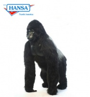 Hansatronics Mechanical Silver Back Gorilla Small 39'' (0266) - FREE SHIPPING!