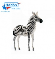 Hansatronics Mechanical Zebra, Ride-On Adult (0234) - FREE SHIPPING!