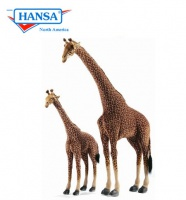Hansatronics Mechanical Giraffe Life Size 17ft Tall (0187) - FREE SHIPPING!