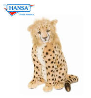 Hansatronics Mechanical Cheetah, Cub Large Seated (0152) - FREE SHIPPING!