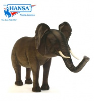 Hansatronics Mechanical Elephant, Extra Large Ride-On (0030) - FREE SHIPPING!