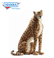 Hansatronics Mechanical Cheetah, Life Size Seated (0019) - FREE SHIPPING!