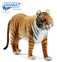 Hansatronics Mechanical Tiger, Life Size Standing Ride-On (0011) - FREE SHIPPING!
