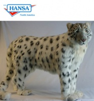 Hansatronics Mechanical Snow Leopard Standing (0006) - FREE SHIPPING!
