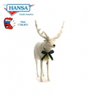 Hansatronics White Deer Talking and Singing (0525) - FREE SHIPPING!