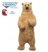 Hansatronics Brown Bear Talking and Singing (0527) - FREE SHIPPING!