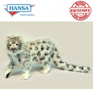 Snow Leopard Standing (6514) - FREE SHIPPING!