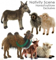Nativity Scene Animals Set (Gift Size) - FREE SHIPPING!