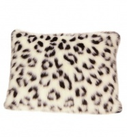 "Snow Leopard Pillow 30"" (6914) - FREE SHIPPING!"