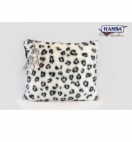 "Snow Leopard Pillow 21"" (6915) - FREE SHIPPING!"