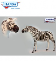 Zebra, Adult Ride-On Jacquard (6568) - FREE SHIPPING!