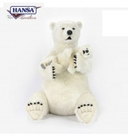 "Polar Mama With Baby 30"" (0578) - FREE SHIPPING!"