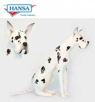 Great Dane, Harlequin, Lifesize (3762) - FREE SHIPPING!