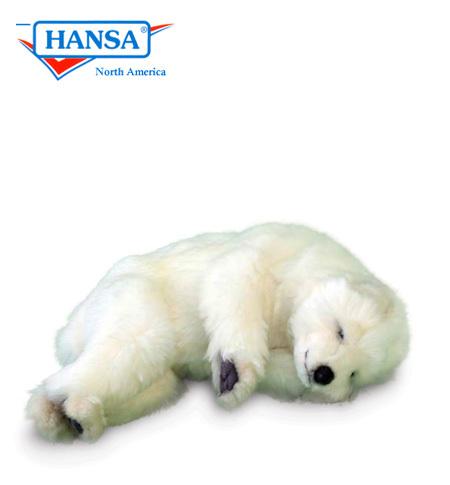 Baby polar bear sleeping - photo#28