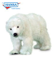Polar Bear Cub Small on All Fours (5258)
