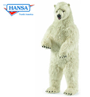 Lifelike Polar Bear, Lifesize, Upright (3650)