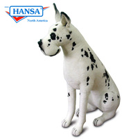 Great Dane, Harlequin, Lifesize (9501) - FREE SHIPPING!