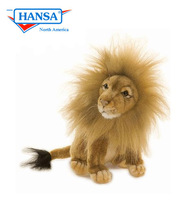 Lion, Full Mane Med Seated (3937)
