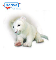 White Lion Cub Floppy (5237)