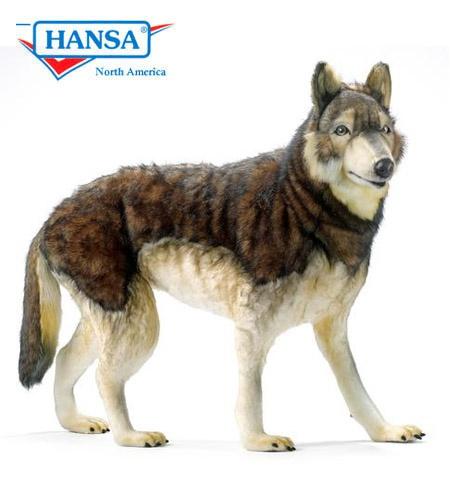 Hansa Timber Wolf Life Size 5496