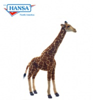 Stuffed Giraffes By Hansa Toys