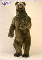 Hansatronics Mechanical Grizzly Bear, Giant Lifesize (0195) - FREE SHIPPING!