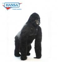 Hansatronics Mechanical Gorilla Life Size Male Silver Back 67''  (0291) - FREE SHIPPING!