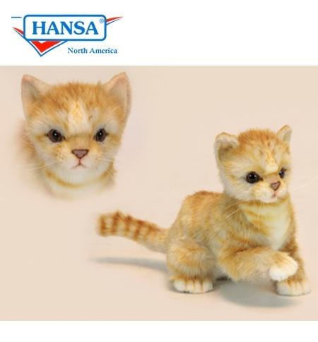 Hansa Cat Kitten Ginger 6492
