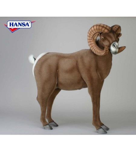 Hansa Lifesize Horn Ram 3673