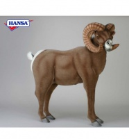 Hansa Lifesize Big Horn Ram (3673) - FREE SHIPPING!