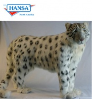 Snow Leopard Standing (4282) - FREE SHIPPING!