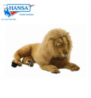 Lion, Male Large Lying (3568) - FREE SHIPPING!