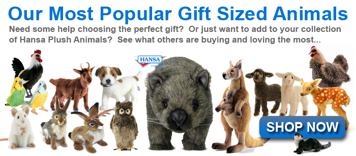 Hansa Toys Online Creations Realistic Stuffed Animals Best Price Guarantee Plus Free Shipping Over 99